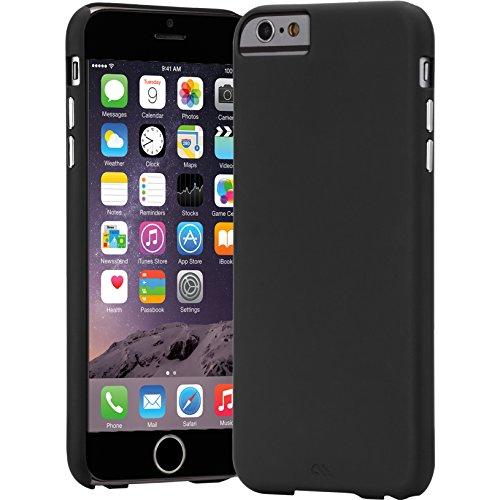 Case-Mate Barely There ultradünne Schutzhülle Apple iPhone 6 Plus 13,9 cm (5,5 Zoll) schwarz (Case-mate Von Case 6 Iphone)