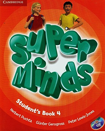 Super Minds Level 4 Student's Book with DVD-ROM by Herbert Puchta (Student Edition, 9 Aug 2012) Paperback