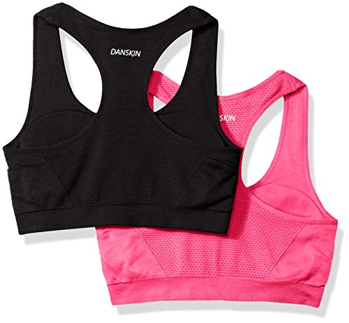 Danskin donna   Reggiseno sportivo Camellia Pink/Rich Black