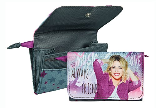 Undercover VIAE7804 - Kinderhandtasche Disney Violetta, ca. 33 x 23 x 10 cm Geldbörse