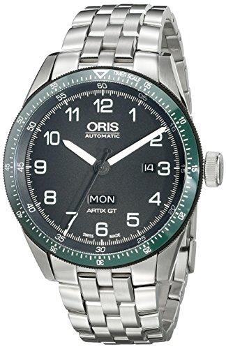 Oris Men's 73577064494SET Artix Analog Display Swiss Automatic Black Watch