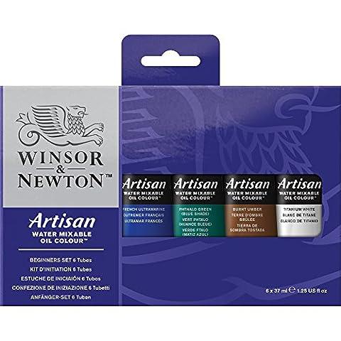 Winsor & Newton Artisan Set débutant de Peinture à l'huile diluable à l'eau