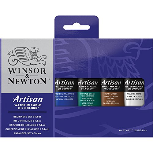 Winsor & Newton Artisan Oil - Assortimento 6 Tubi da 37 ml, 6 Pezzi