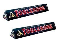 Toblerone Dark 2 Packs of 100gms Swiss Chocolates