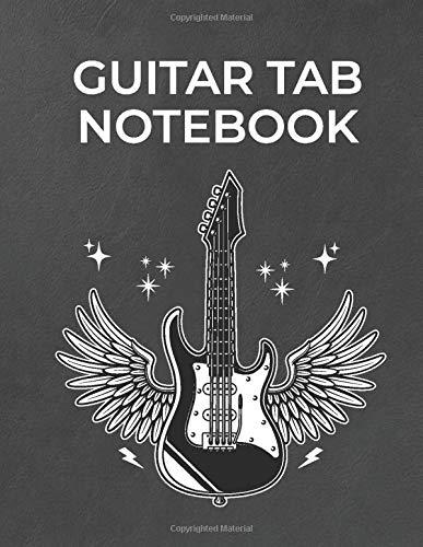 Guitar Tab Notebook: 6 String Guitar Chord
