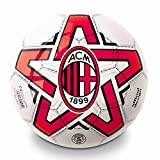 Pallone Milan Ufficiale Mondo Leggero in PVC Misura Diametro 23 cm. PALMIPVC06173