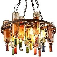 Lampadari Fatti Con Bottiglie Di Vetro.Bottiglie Vetro Lampadari Lampadari Lampade A Amazon It