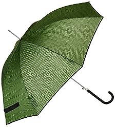 Shedrain Umbrellas Auto Stick Umbrella, Ava Emeraldblack Binding, One Size