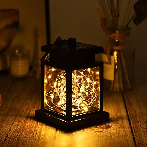 AOKARLIA Solar Mason Jar Licht Jar Free Retro Licht Außen, 30 LED Licht Glasgläser Garten Hängeleuchten, LED Weihnachtsbeleuchtung Lichterkette für Party, Hochzeitsdekoration,Warmlight (Mason Jar-schmetterling)