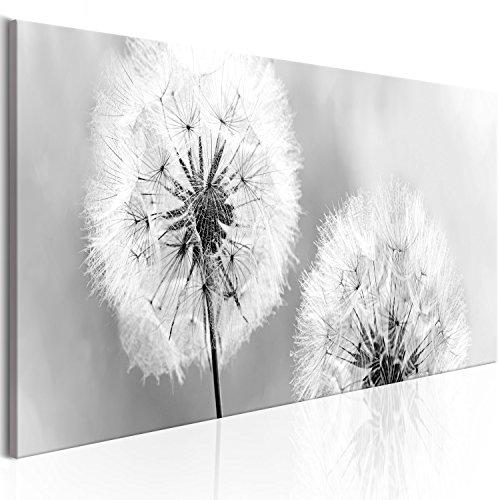 murando - Bilder Pusteblume 135x45 cm - Vlies Leinwandbild - 1 Teilig - Kunstdruck - modern - Wandbilder XXL - Wanddekoration - Design - Wand Bild - Blumen Natur grau Pusteblumen b-B-0223-b-b