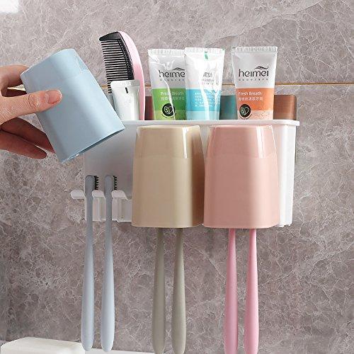 Punch Cup (Kreative punch Cup Zahnbürstenhalter Zahnbürste waschen - freie Wand-WC Becher)