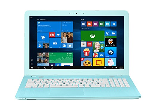 Asus F541UA-GQ1526T 39,6cm (15,6 Zoll matt) Notebook (Intel Core i3-6006U, 8GB RAM, 256GB SSD, Intel HD Graphics, DVD, Win 10) blau