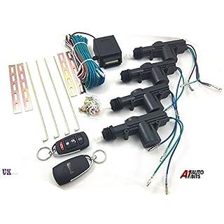 Universelle Fernbedienung für Zentralverriegelung, Upgrade des Autos, Autoaufsperren ohne Auto-Schlüssel-Berührung, 2 Schlüssel, mit LED-Licht