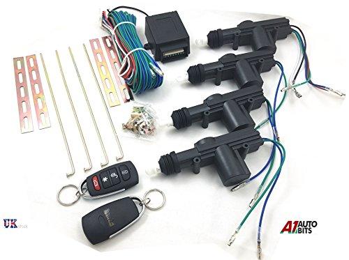 Universal Remote Zentralverriegelung Upgrade Kit Schlüsselanhänger Schlüsselschilder Keyless Entry 2Schild Schlüsselkasten LED Flash Neu