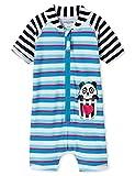 Schiesser Mädchen Aqua Baby-Surfanzug Badeanzug, Mehrfarbig (Multicolor 1 904), 86 (Herstellergröße: 414)