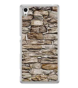 Stone Wall 2D Hard Polycarbonate Designer Back Case Cover for Sony Xperia Z4