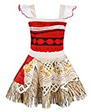 AmzBarley Princess Moana Dress Adventure Costume for Girls Kids Party Cosplay Fancy Dress - Best Reviews Guide