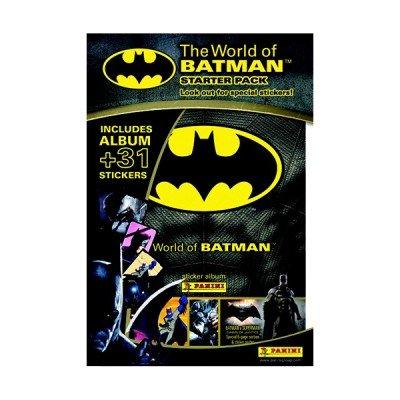 Panini Le Monde De Batman Sticker Collection Starter Pack