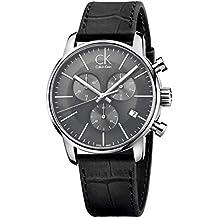 Calvin Klein - Orologio da uomo, cronografo al quarzo, in pelle K2G271C3 - Calvin Klein Cinturini