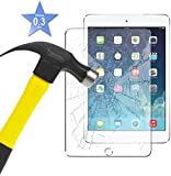 Apple iPad Air - Tempered Glass LCD Screen Protector Guard & Polishing Cloth