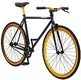 Pure Fix Cycles Erwachsene Fixie Fixed Gear Fahrrad mit einem