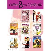 """Coffret """"Comédie"""": Tanguy / Pédale Dure / Ah! Si j'étais riche / Le boulet / Chouchou / Travaux / Meilleur éspoir feminin / Gomez & Tavarez - Coffret 8 DVD"""