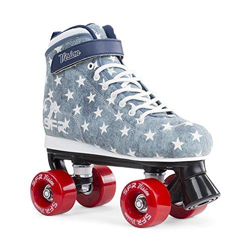 sfr-vision-ii-canvas-junior-quad-skate-blue-jeans-uk-4