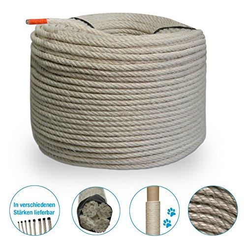 Grevinga® Sisal-Seil Ø 8 mm (5 Meter)