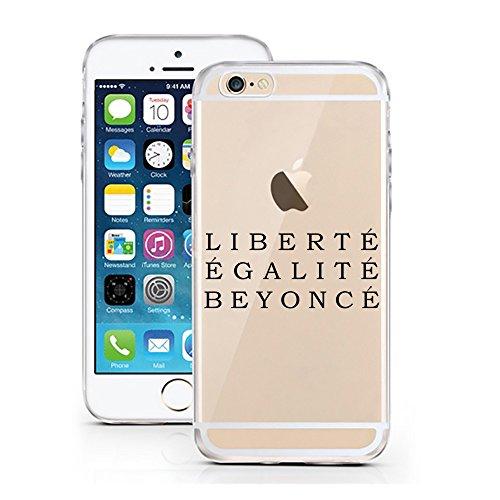 iPhone 7 Hülle von licaso® für das Apple iPhone 7 aus TPU Silikon More Issues than Vogue Fashion Style Muster ultra-dünn schützt Dein iPhone 7 & ist stylisch Case Design Schutzhülle Bumper Geschenk (i Liberté Égalite Beyoncé