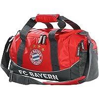 Sporttasche rot FCB FC Bayern München Tasche plus Lesezeichen I love München