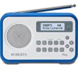 Roberts Play Duo DAB/DAB+/FM RDS Radio Dark Blue