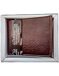 Men's Wallet Dark Brown Colour Stylish Genuine Leather Wallet