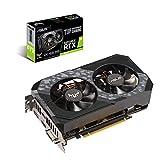 Scheda video ASUS TUF GeForce RTXTM 2060 OC edition 6GB GDDR6 con dissipatore dual fan, ideale per gaming con alte frequenze di aggiornamento