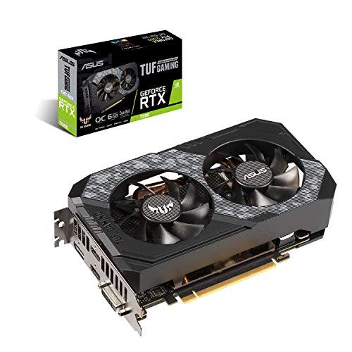 ASUS TUF-RTX2060-O6G-GAMING GeForce RTX 2060 6 GB GDDR6 - Tarjeta gráfica (GeForce...