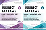 Sodhanis Indirect Tax GST-Customs-FTP 2-Modules set for CA Final Nov. 2018 (435 Illustrations)