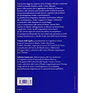 La pianificazione linguistica. Lingue, società e
