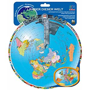 HCM Kinzel - Juguete Educativo de geografía (Caly 103872) (versión en alemán)