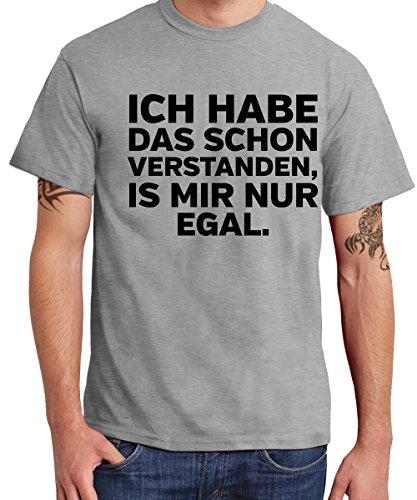 - Ich Habe das Schon verstanden, ist Mir nur egal - Boys T-Shirt Sports Grey, Größe XL