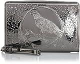 Diesel EMMATT Damenhandtasche Handtasche Clutch Bag Farbe Silber Silver