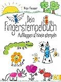 Dein Fingerstempelbuch: Aufklappen & hinein stempeln
