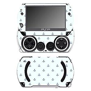 Disagu SF-14232_1041 Design Folie für Sony PSP Go – Motiv kleine Anker transparent