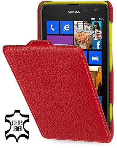 dertasche Ultraslim kompatibel mit Nokia Lumia 625, Rot ()