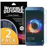 Protecteur d'écran pour Huawei Honor 8 Pro, Invisible Defender [Couverture intégrale][2-Pack] Garantie de couverture incurvée bord à bord [Compatible avec Coque] Film HD Transparent Super mince