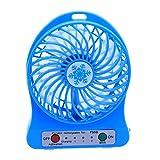 Unterbrechen Tragbarer Mini USB Fan LED-Licht Heizkörper Akku Fan PC Notebook Cooling Fan