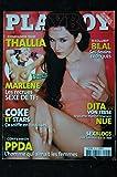 PLAYBOY 056 N° 56 COVER THALLIA MARLENE DITA VON TEESE BILAL DESSINS EROTIQUES PPDA
