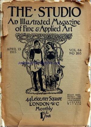 STUDIO (THE) [No 265] du 15/04/1915