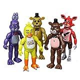 Five Nights at Freddy'S Muñeca de Juguete Figuras de Juguetes Figuras de acción Lindas de Juguetes Conjunto de Figuras de acción Populares del Cubo de Rubik (Color : A01, Size : 15cm)
