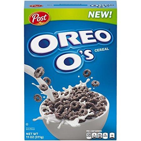Oreo O´S Cereal 311gr - Cereales de las famosas galletas