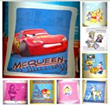 Ready Steady Bed® Kids Children's Warm Throw Fleece Blankets! Available In A Choice Of Designs! Character Name: Disney Cars I am Speed 125cm by 150cm