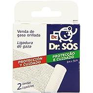 Dr. SOS - Protección y Cuidado - Vendas - 2 unidades